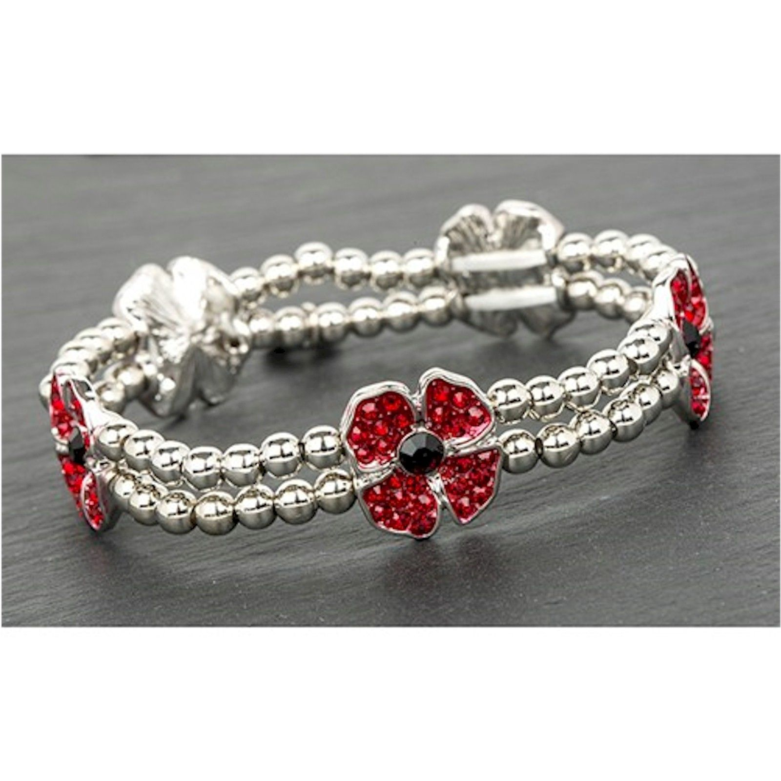 Equilibrium Ornate Poppy Bangle qD3caR3C